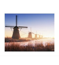 Windmills At Kinderdijk Kunstdruk