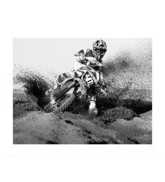 Motocross Bike Rider Kunstdruk