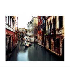 Gondolier In Venice Kunstdruk