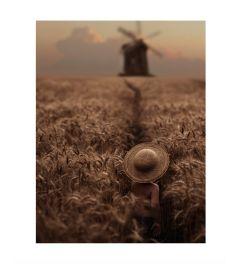 Through The Wheatfield Kunstdruk