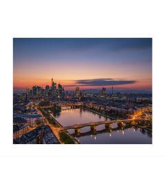 Frankfurt Skyline Kunstdruk