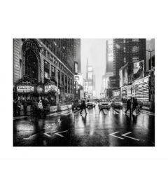 Times Square B&W Kunstdruk