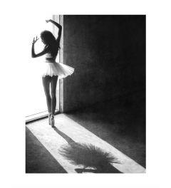 Ballerina Kunstdruk