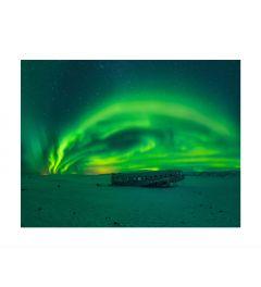 Northern Lights Panorama Kunstdruk