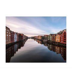 Trondheim Norway Kunstdruk