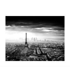 Skyline Of Paris B&W Kunstdruk