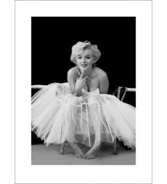 Marilyn Monroe Ballerina Art Print 60x80cm
