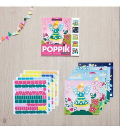 Poppik Magic Sticker Kaarten 15x15cm