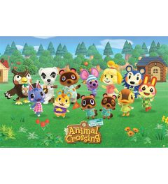 Animal Crossing Lineup Poster 61x91.5cm