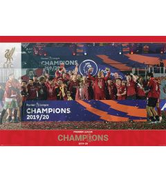 Liverpool FC Trophy Lift Poster 61x91.5cm