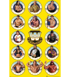 WWE Legends Chrome Poster 61x91.5cm