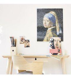 Poppik Vermeer Meisje met de parel Sticker poster 48x57cm