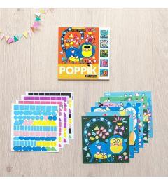 Poppik Dieren Sticker Kaarten 15x15cm