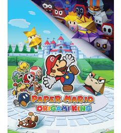 Paper Mario The Origami King Poster 40x50cm