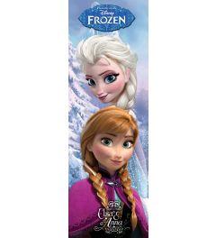 Frozen Anna En Elsa Poster 53x158cm
