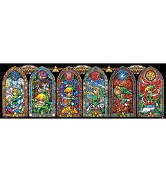The Legend Of Zelda Stained Glass Poster 30.5x91.5cm
