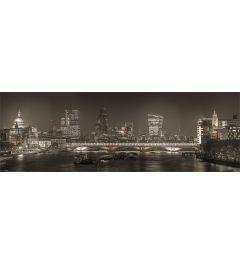 Londen Skyline 30.5x91.5cm