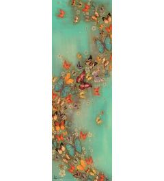 Lily Greenwood Poster Chinese Green 30.5x91.5cm