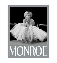 Marilyn Monroe - Ballerina - Silver Ink Border