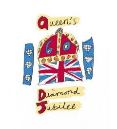 Diamanten jubileum- Officieel embleem