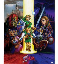 The Legend Of Zelda Ocarina Of Time Poster 40x50cm