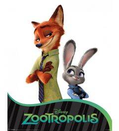 Zootropolis Two Characters Poster 40x50cm