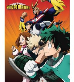 My Hero Academia Poster Heroes To Action 40x50cm