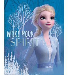 Frozen 2 Wake Your Spirit Elsa Poster 40x50cm