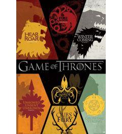 Game Of Thrones Sigils Poster 61x91.5cm