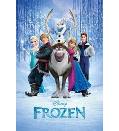 Frozen Cast Poster 61x91.5cm