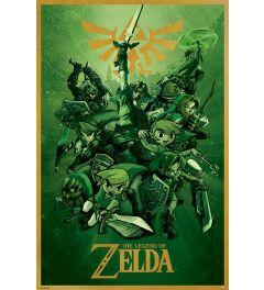 The legend of Zelda Link Poster 61x91.5cm