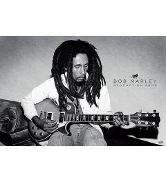 Bob Marley Gitaar Poster 91.5x61cm