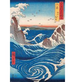 Hiroshige Poster Naruto Draaikolk 61x91.5cm
