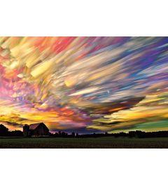 Zonsondergang Spectrum Poster 61x91.5cm
