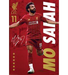 Liverpool FC Mo Salah Poster 61x91.5cm