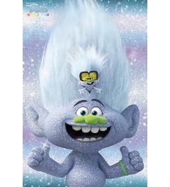 Trolls World Tour Guy Diamond and Tiny Poster 61x91.5cm