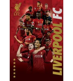 Liverpool FC Players 2019-20 Poster 61x91.5cm