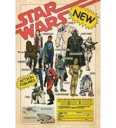 Star Wars Action Figures Poster 61x91.5cm