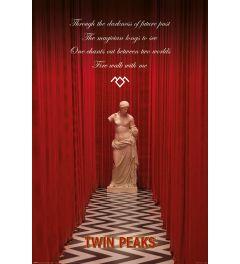 Twin Peaks The Black Lodge Poster 61x91.5cm