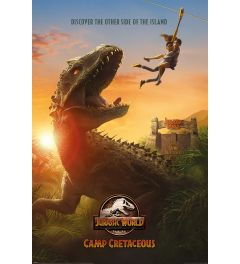 Jurassic World Camp Cretaceous Poster 61x91.5cm