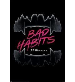 Ed Sheeran Bad Habits Poster 61x91.5cm