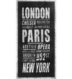 Londen - Parijs - New York