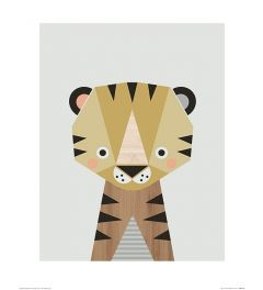 Tijger Art Print Little Design Haus 40x50cm