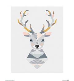 Hert Art Print Little Design Haus 40x50cm