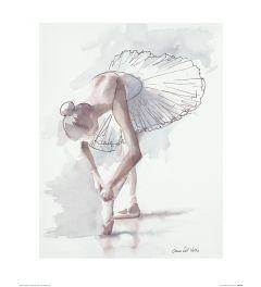 Ballet Plankenkoorts Art Print Aimee Del Valle 40x50cm