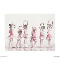 Ballet Vijfde positie Art Print Aimee Del Valle 40x50cm