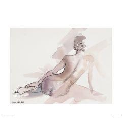 Ballet Zaterdag Art Print Aimee Del Valle 40x50cm
