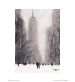 New York - Hevige Sneeuw