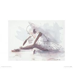 Ballet Het begin Art Print Aimee Del Valle 30x40cm