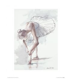 Ballet Plankenkoorts Art Print Aimee Del Valle 30x40cm